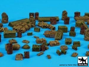 British WW II equipment accessories set  (Vista 3)