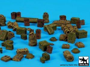 British WW II equipment accessories set  (Vista 4)