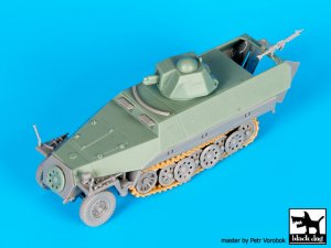 Sd.Kfz.251 ausf D with Hotchkiss turret   (Vista 3)