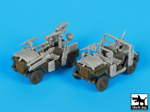 IDF M-151 accessories set  (Vista 3)