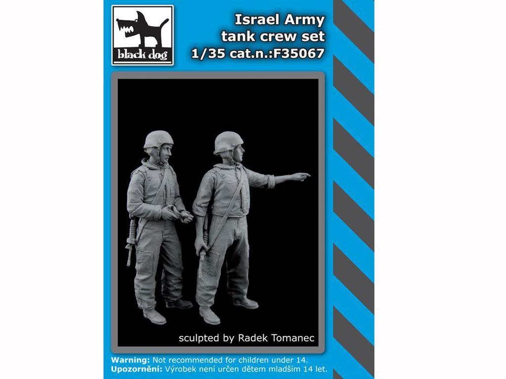 Tanquistas Israelis (Vista 1)