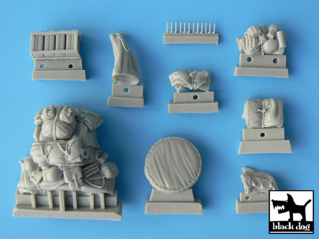 Sd.Kfz. 222 & 223 accessories set (Vista 2)