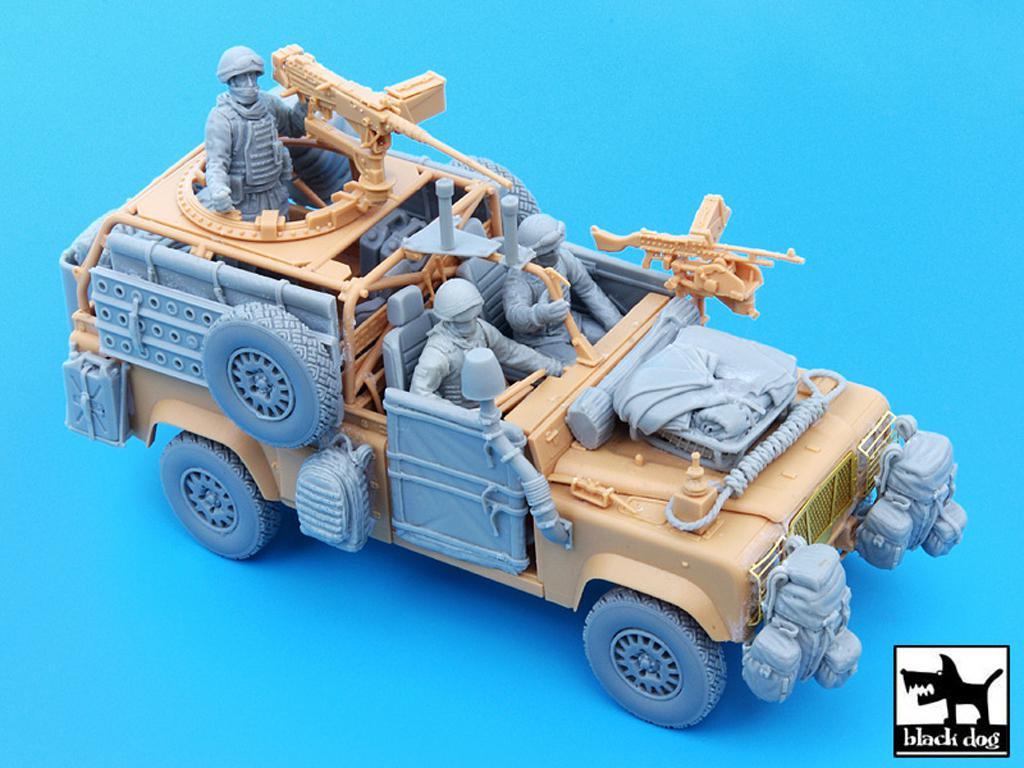 Defender Wolf con tripulación (Vista 3)
