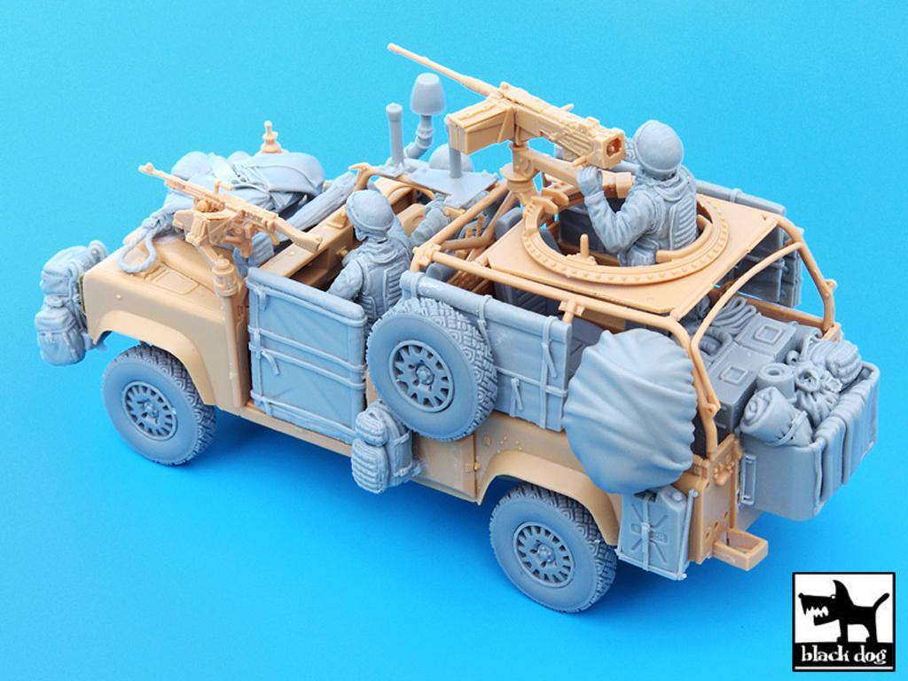 Defender Wolf con tripulación (Vista 4)