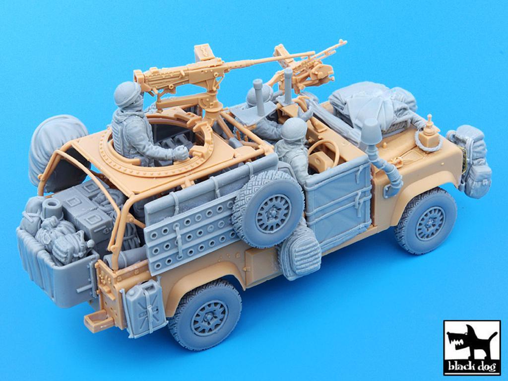 Defender Wolf con tripulación (Vista 5)