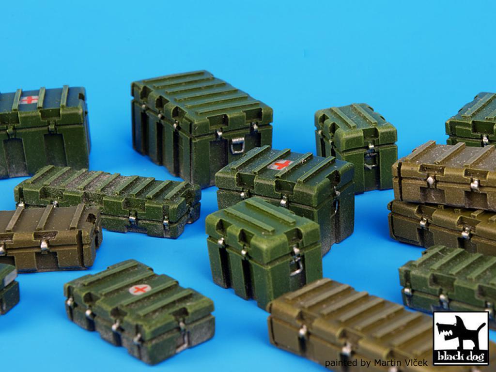 Cajas de plástico modernas y universales (Vista 3)