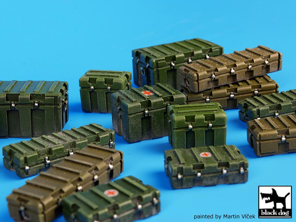 Cajas de plástico modernas y universales (Vista 4)