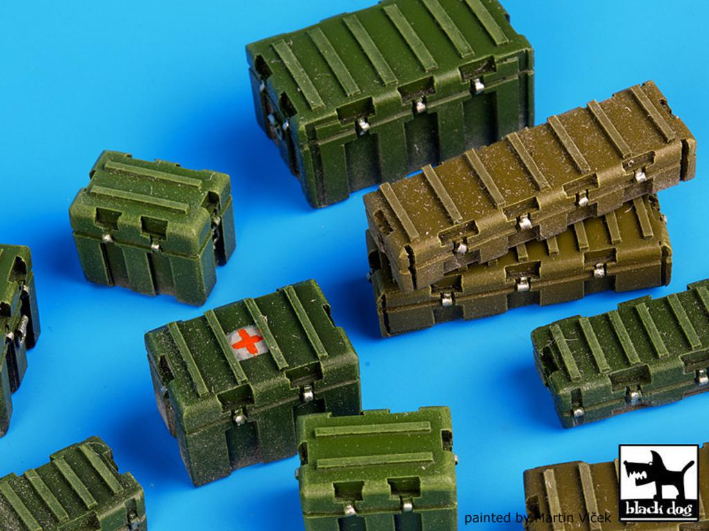 Cajas de plástico modernas y universales (Vista 5)