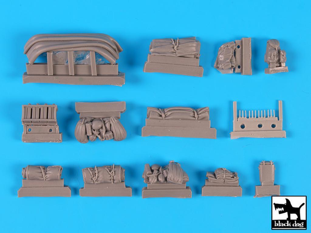 Sd.Kfz. 250/3 Greif Set accesorios (Vista 2)