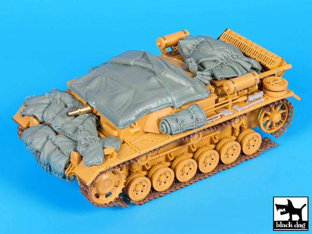 Sturmgeschutz III Ausf D (Vista 1)