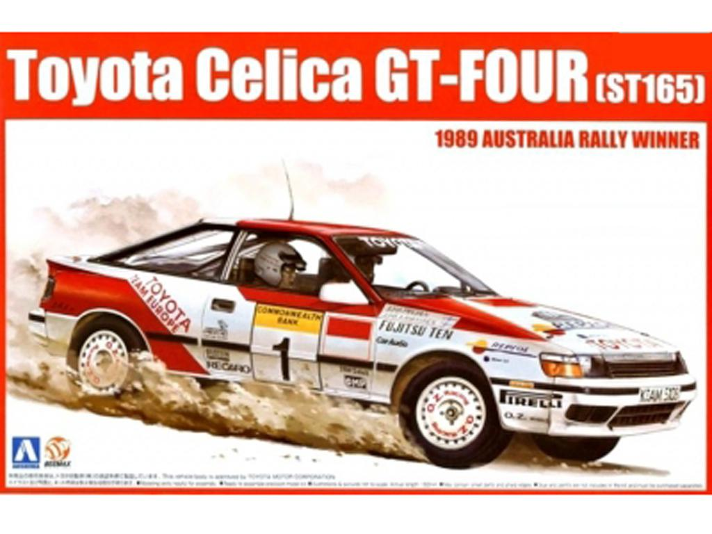 Toyota Celica GT-Four (ST165) 1989 Australia Rally Winner (Vista 1)