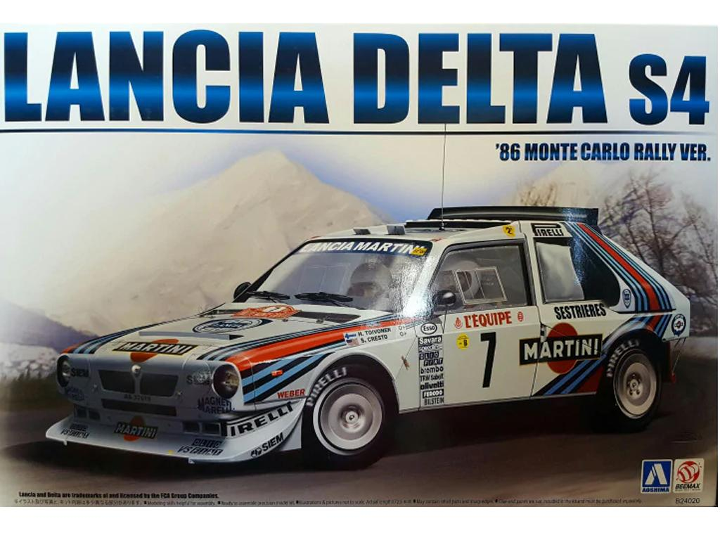 Lancia S4 Rally Monte Carlo 1986 (Vista 1)