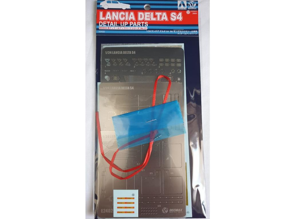 Set detalle Lancia Delta S4 (Vista 1)