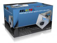 Cabina con succión portable LED - Ref.: BELK-SB002