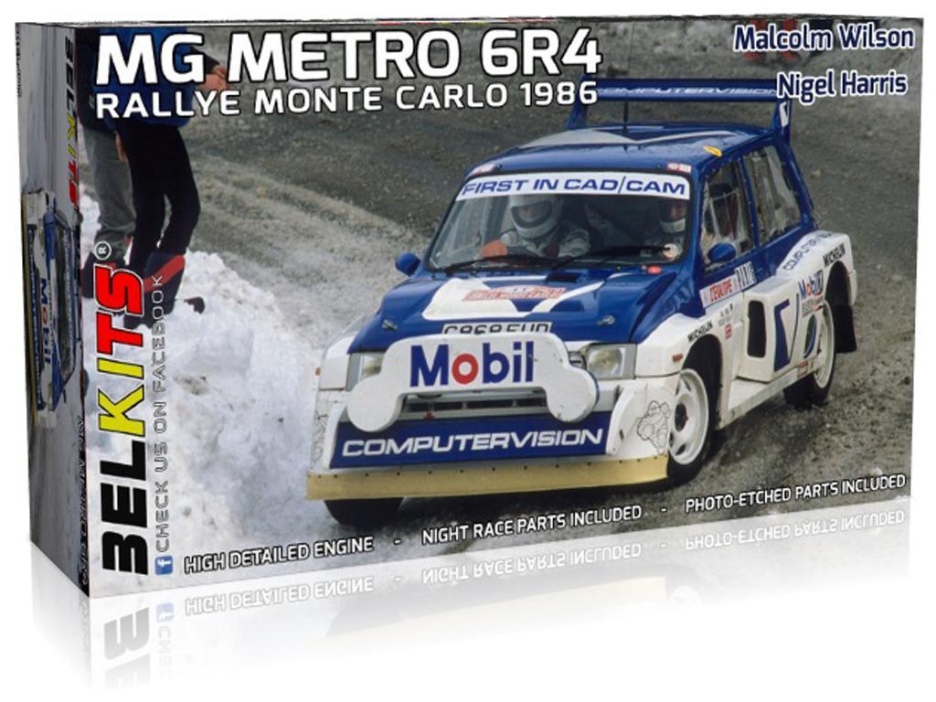 MG Metro 6R4 Rally Monte Carlo 1986 (Vista 1)