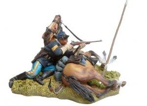 Shot down US Cavalryman and Horse  (Vista 1)