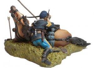 Shot down US Cavalryman and Horse  (Vista 2)
