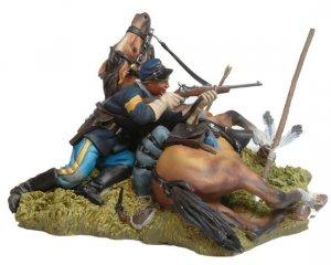 Shot down US Cavalryman and Horse  (Vista 4)