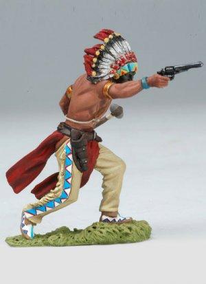 Advancing Sioux Shooting Revolver  (Vista 2)