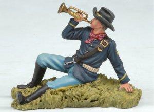 US Bugler laying on the ground  (Vista 2)