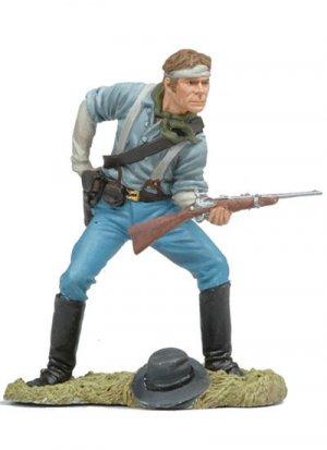 Us Cavalryman loading carbine  (Vista 1)