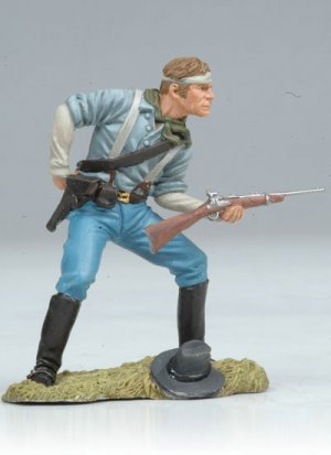 Us Cavalryman loading carbine  (Vista 4)