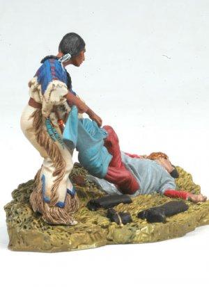 Squaw looting US Cavalryman  (Vista 2)