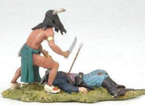 Sioux scalping US Cavalryman  (Vista 2)