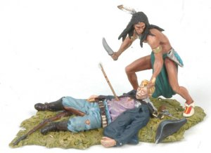 Sioux scalping US Cavalryman  (Vista 4)