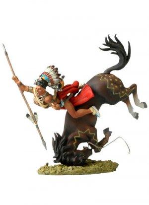 Falling Sioux rider  (Vista 1)