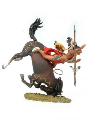 Falling Sioux rider  (Vista 2)
