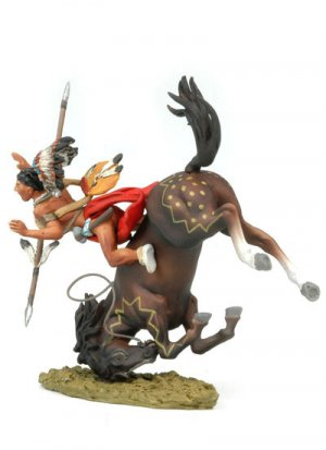 Falling Sioux rider  (Vista 4)