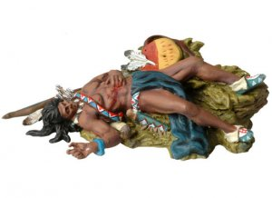 Dead Sioux laying on the ground  (Vista 1)