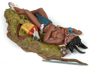 Dead Sioux laying on the ground  (Vista 2)