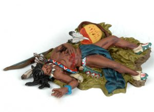 Dead Sioux laying on the ground  (Vista 3)