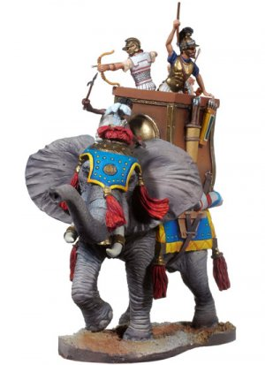 Elefante de Guerra Cartaginés  (Vista 3)