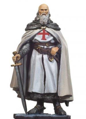 Jacques of Molay. Templar Grand Master  (Vista 1)