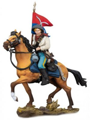 Cavalry Flag Bearer, 1876  (Vista 1)