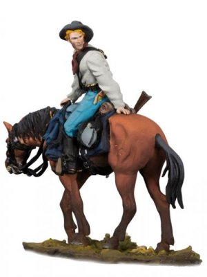 U.S. Cavalry Trooper 3, 1876  (Vista 1)