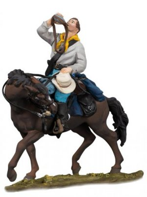 U.S. Cavalry Trooper 5, 1876  (Vista 1)