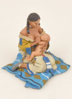 Mother Feeding Baby  (Vista 1)