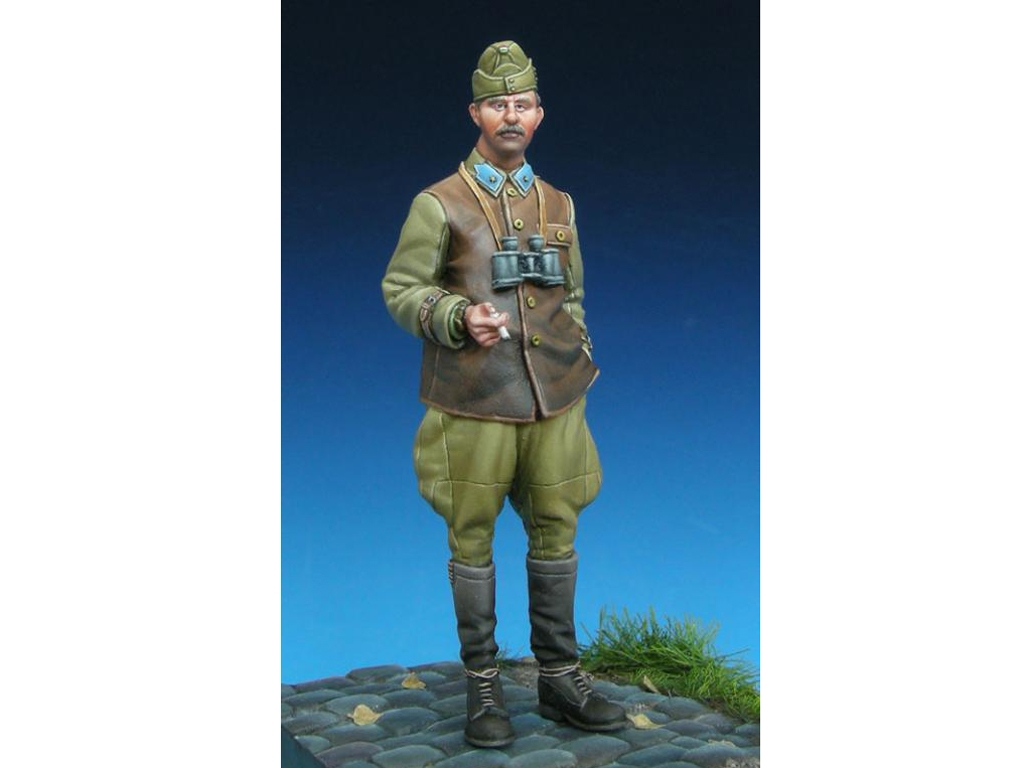 Hungarian Panzer Officer  (Vista 1)