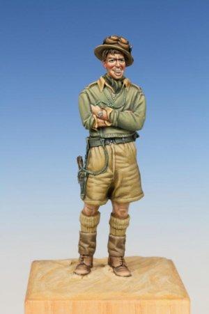 British Tank Crewman WW II Western Deser  (Vista 1)