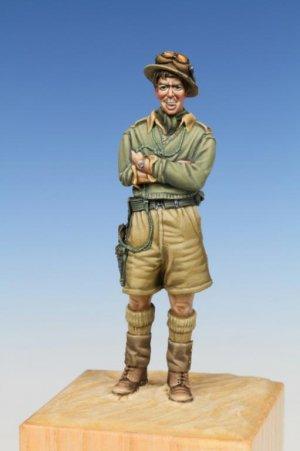 British Tank Crewman WW II Western Deser  (Vista 2)