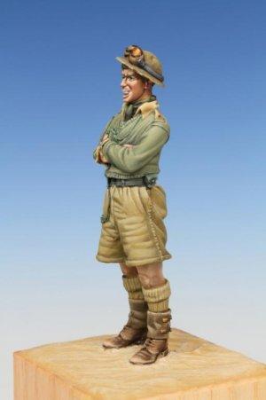 British Tank Crewman WW II Western Deser  (Vista 4)