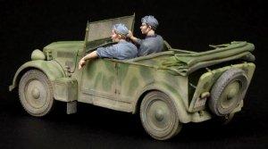 Italian driver & NCO for 508 CM Colonial  (Vista 5)