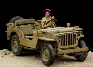 British Driver Western Desert WW II  (Vista 1)