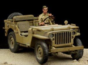 British Driver Western Desert WW II  (Vista 2)
