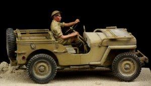 British Driver Western Desert WW II  (Vista 3)