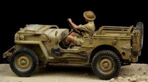 British Driver Western Desert WW II  (Vista 4)
